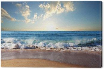 Quadro em Tela Sea sunset