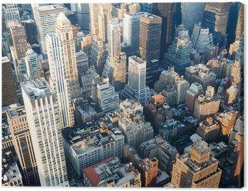 Quadro em Tela Vista aérea do centro de Nova York