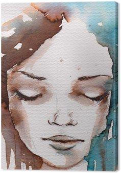 Quadro em Tela Winter, cold portrait
