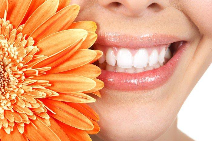 Quadro em Tela Woman teeth - Temas