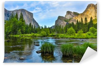 Samolepicí Fototapeta Yosemite Nationa Park při západu slunce