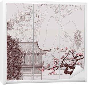 Schrankaufkleber Chinesische Landschaft