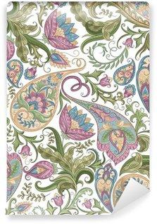 Selbstklebende Fototapete Nahtlose Paisley-Muster