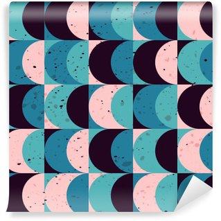 Selbstklebende Fototapete Nahtlose Vintage geometrische Muster
