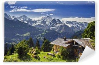 Selbstklebende Fototapete Sulwald, Schweiz