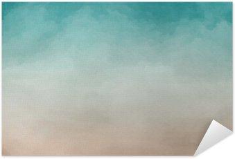 Selbstklebendes Poster Abstrakte Aquarell Textur