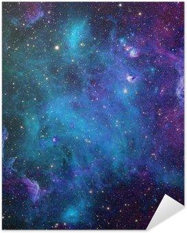 Selbstklebendes Poster Galaxie