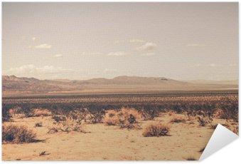 Selbstklebendes Poster Southern California-Wüste