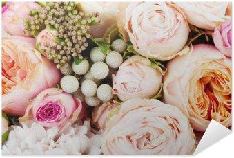 Selbstklebendes Poster Wunderschöne Blumenstrauss