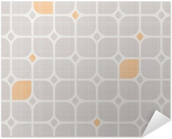 seamless geometric pattern Self-Adhesive Poster