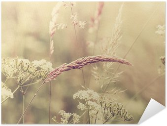 Summer Meadow Self-Adhesive Poster