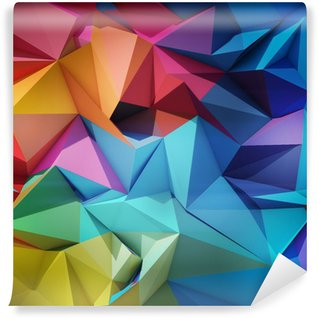 Self-Adhesive Wall Mural Abstract geometric background