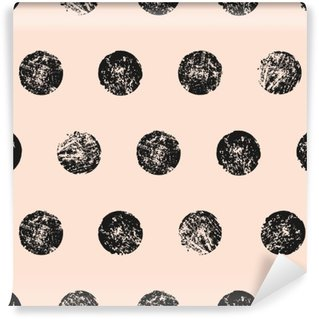 Abstract Round Shapes Seamless Pattern Self-Adhesive Wall Mural