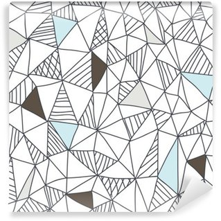 Self-Adhesive Wall Mural Abstract seamless doodle pattern