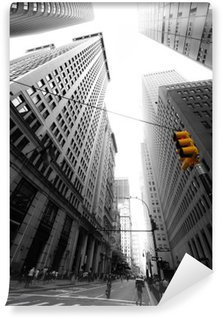 avenue new yorkaise Self-Adhesive Wall Mural