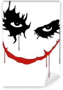 Joker smile Self-Adhesive Wall Mural