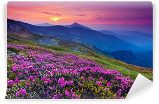 Self-Adhesive Wall Mural mountain landscape
