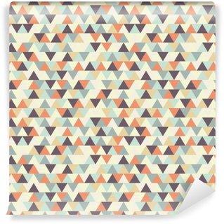 seamless geometric pattern Self-Adhesive Wall Mural