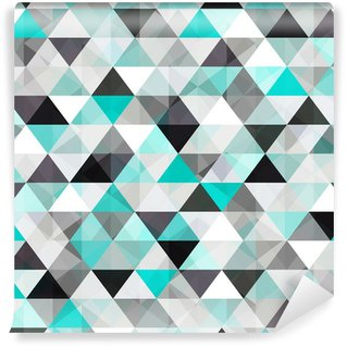 turquoise shiny vector background Self-Adhesive Wall Mural