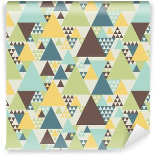Abstract geometric pattern #2 Self-Adhesive Wallpaper