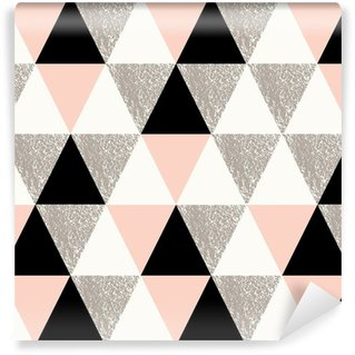 Abstract Geometric Pattern Self-Adhesive Wallpaper