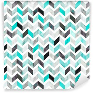 turquoise shiny vector background Self-Adhesive Wallpaper