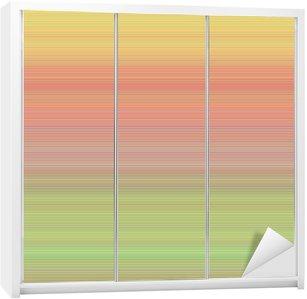 Skåpdekor Abstrakt horisontell linje bakgrundsdesign