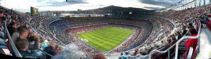 Fototapeta Vinylowa Stadion FC Barcelona - Miasta europejskie