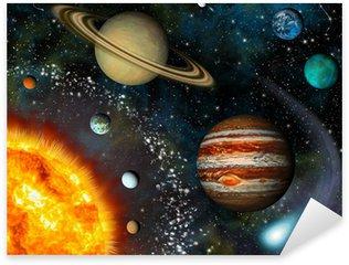 Sticker - Pixerstick 3D Solar System