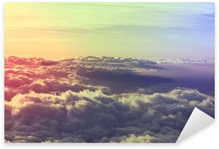 Sticker - Pixerstick Above clouds