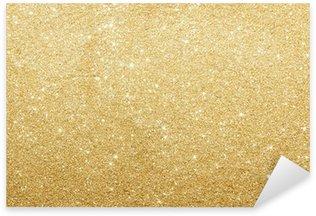 Abstract gold background Sticker - Pixerstick