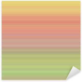 Sticker - Pixerstick Abstract horizontal line background design