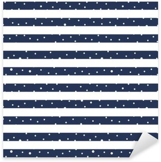 Sticker - Pixerstick Abstract Seamless Horizontal striped pattern