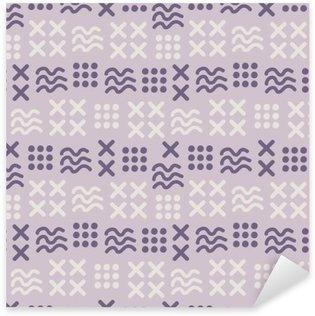 abstract seamless pattern Sticker - Pixerstick