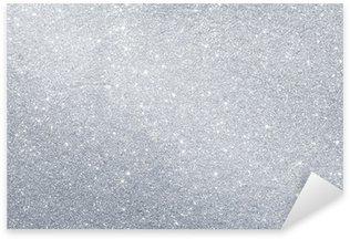 Abstract silver background Sticker - Pixerstick