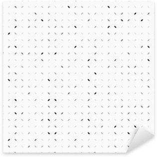 Pixerstick Sticker Abstracte grijze achtergrond, naadloos patroon