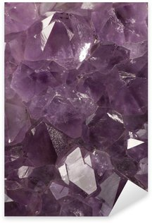 Pixerstick for All Surfaces Amethyst crystallized structure