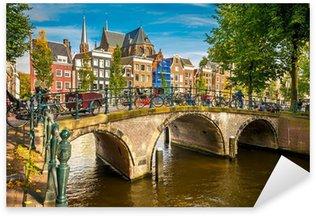 Pixerstick Sticker Amsterdam stadsgezicht