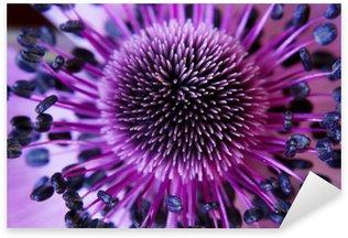 Sticker Pixerstick Anamone fleur