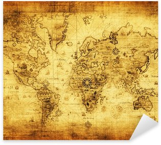 Pixerstick for All Surfaces ancient map of the world