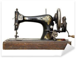 antique sewing machine Sticker - Pixerstick