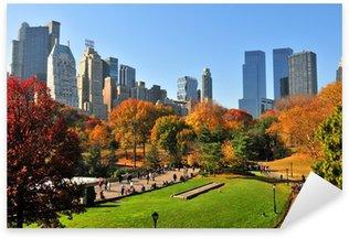 Sticker Pixerstick Automne dans le Central Park NYC &.