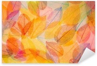 Sticker - Pixerstick Autumn background