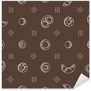 Pixerstick for All Surfaces bakery products seamless pattern. vector illustration