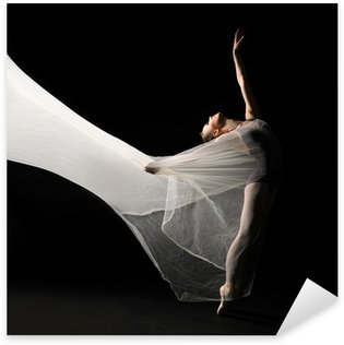 Sticker - Pixerstick Ballet dancer