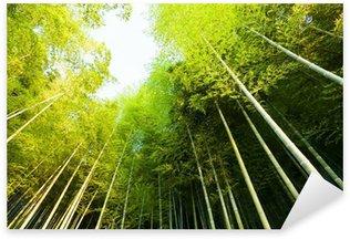Sticker - Pixerstick bamboo forest