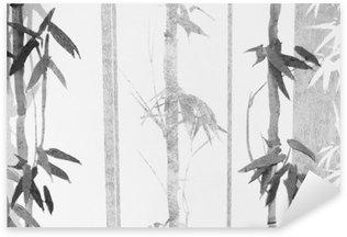 Bamboo / Texture Pixerstick Sticker