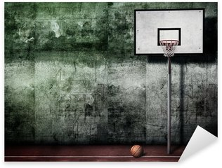 Basketball Basket Sticker - Pixerstick