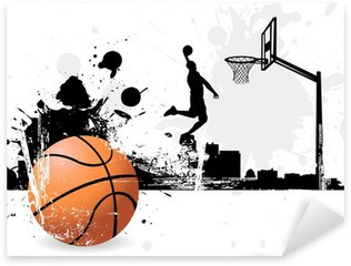 Basketball player Sticker - Pixerstick