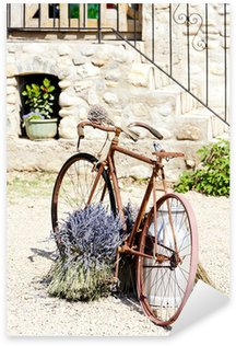 Sticker - Pixerstick bicycle, Provence, France